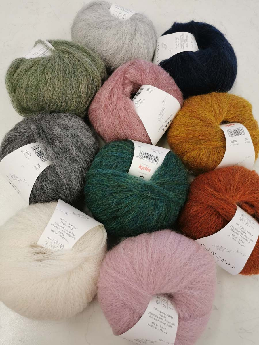Image of Wool Collection in shop